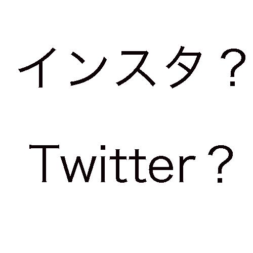 サムネ-インスタ?Twitter?