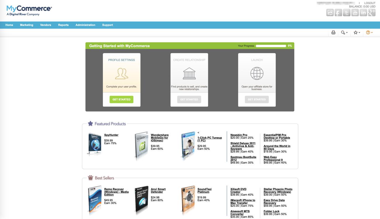 MyCommerce topのコピー