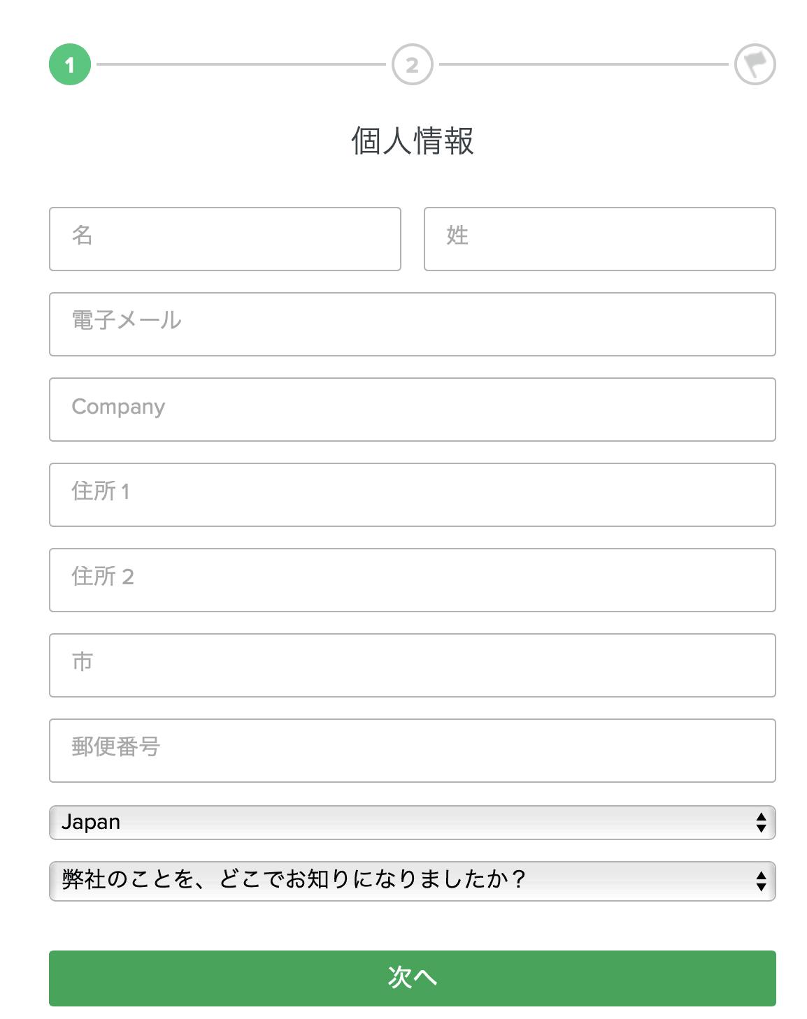報告 avangate アカウント登録3
